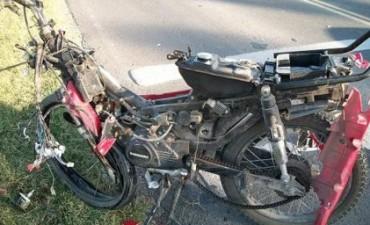FALLECE CONDUCTOR DE MOTO EN ACCIDENTE.