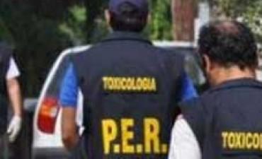 COCINA DE LA DROGA EN ENTRE RIOS.