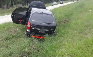 ACCIDENTE EN AUTOVIA.