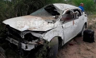 FALLECE GENDARME ENTRERRIANO TRAS VOLCAR EL AUTO.