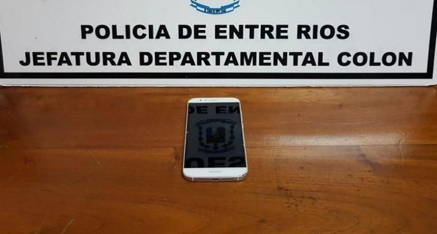 RECUPERAN TELÉFONO SUSTRAÍDO EN  LOCAL BAILABLE,