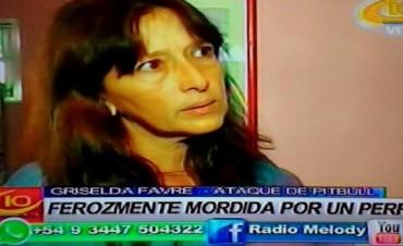 VILLA ELISA FEROZ ATAQUE DE UN PERRO.