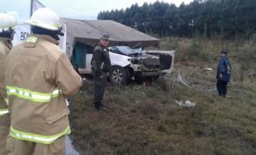 ACCIDENTE EN AUTOVIA GRAL ARTIGAS.