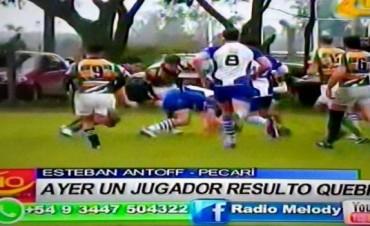 RUGBY VICTORIA DE COLON EN EL CLASICO.