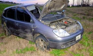 ACCIDENTE EN LA AUTOVIA.