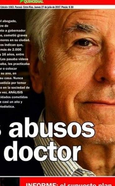 DURO INFORME DE ANALISIS SOBRE RECONOCIDO ABOGADO DE GUALEGUAYCHU.
