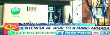 COLÓN: CINCO AÑOS PARA EL ASALTANTE DE LA CONSTRUCTORA ELISENSE:
