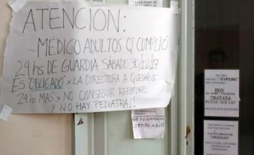LLEGA A LA JUSTICIA CONFLICTO CON HOSPITAL DE COLON.