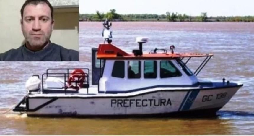 CONC DEL URUGUAY ENCONTRARON SIN VIDA AL HOMBRE QUE ERA BUSCADO EN EL RÍO URUGUAY.