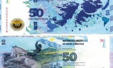 LANZAN NUEVO BILLETE DE 50 PESOS.