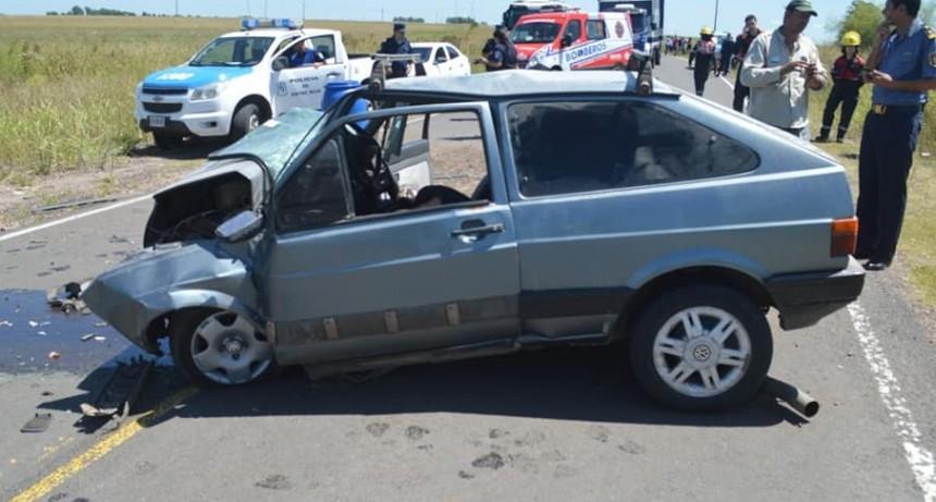 ACCIDENTE RUTA 38 BUSCAN ESCLARECER EL HECHO.