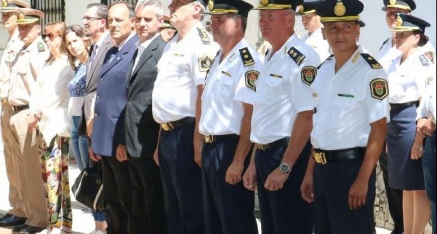 ASUMIERON NUEVAS AUTORIDADES POLICIALES EN EL DEPARTAMENTO.