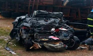 LUCTUOSO ACCIDENTE 4 MUERTES EN ZONA DE FEDERACION.