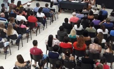 COMIENZO DE ECUELA DE OFICIOS EN SAN JOSE.