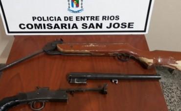 ALLANAMIENTO EN SAN JOSE VIOLENCIA DOMESTICA,