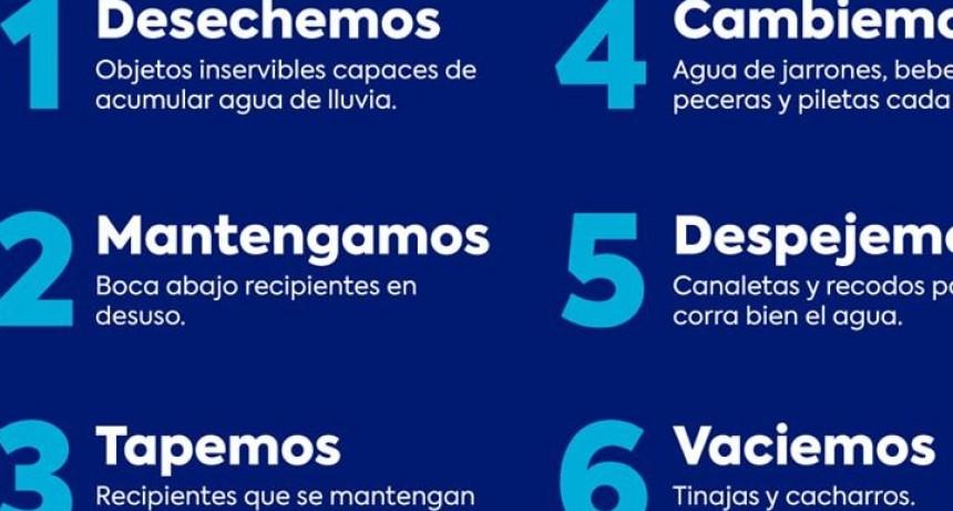 SAN JOSÉ EL MUNICIPIO CONTINÚA CON LA CAMPAÑA DE PREVENCIÓN CONTRA EL DENGUE.
