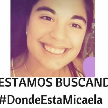 BUSQUEDA INTENSA DE MICAELA GARCIA.