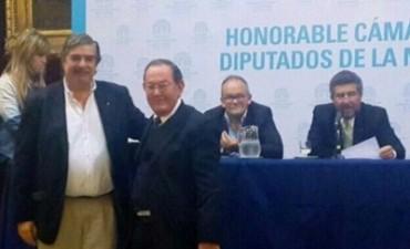 Armando Pietroboni fue distinguido por la Cámara de Diputados de la Nación