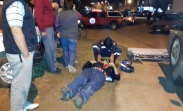 ACCIDENTE EN ROTONDA DE SAN JOSE.