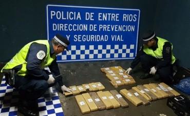 POLICIA ANTINARCOTICOS EN FEDERACION.