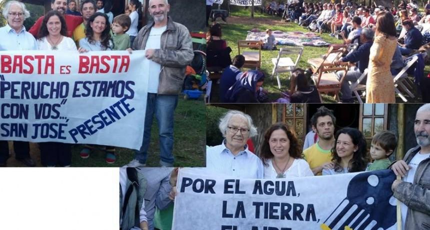 ADOLFO PEREZ ESQUIVEL APOYA A LUCHA ASAMBLEA NO A LOS AGROTOXICOS.