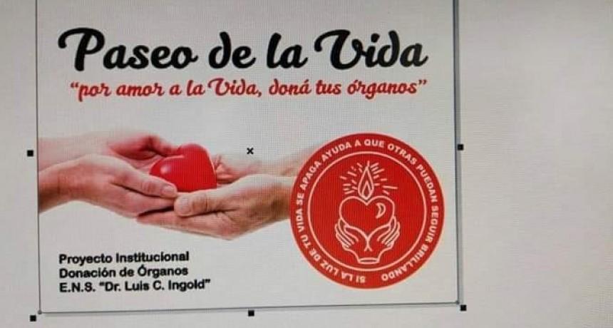 VILLA ELISA CONVOCATORIA EN EL PASEO DE LA VIDA.
