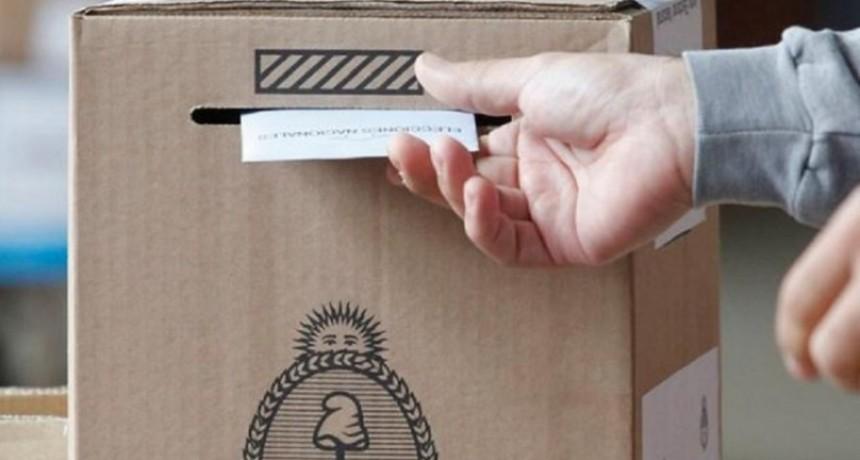 Entre Ríos 40 mil habilitados para votar.