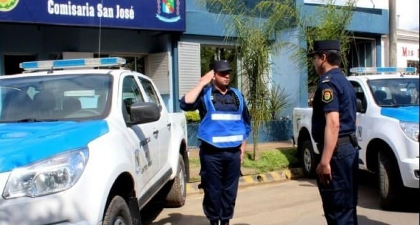 SAN JOSÉ DETENCIÓN DE POLICÍA EN COMISARIA .