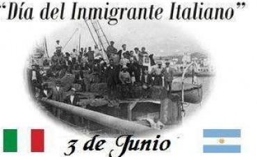 DIA DEL INMIGRANTE ITALIANO.