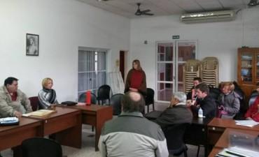 REUNION DIPUTADA MIRIAM LAMBERT EN VILLA ELISA.