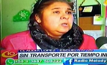 ESCUELA N 29 NO HAY SERVICIO DE REMIS.