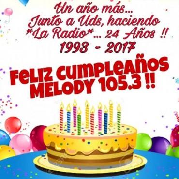 CUMPLEAÑOS DE RADIO MELODY.