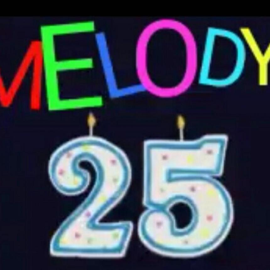 MELODY LA RADIO CUMPLE 25 AÑOS.