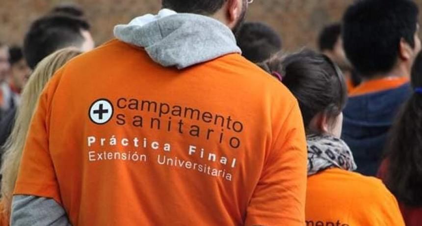 VILLA ELISA DIO INICIO EL CAMPAMENTO SANITARIO