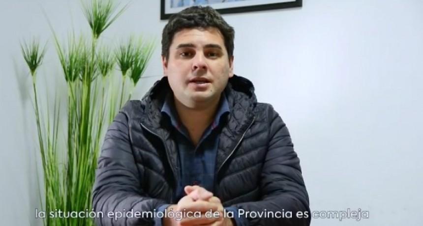 INTENDENTE GUSTAVO BASTIAN HABLA A LA COMUNIDAD EN ÉPOCA DE PANDEMIA