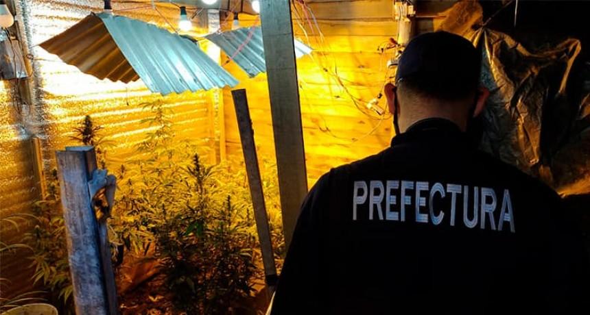 Prefectura allanó una vivienda de San José y encontró estupefacientes