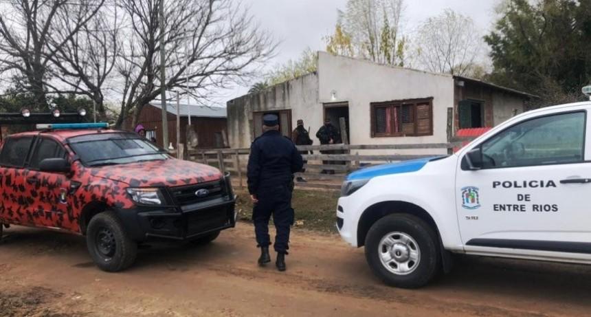Allanamientos en El Brillante con detenidos y secuestro de marihuanaon detenidos y secuestro de marihuana