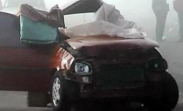 GRAVE ACCIDENTE EN NOGOYA.