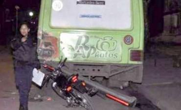FALLECE MOTOCICLISTA EN VILLAGUAY.