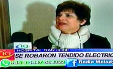 HOSPITAL SAN JOSE ROBO DE CABLEADO.