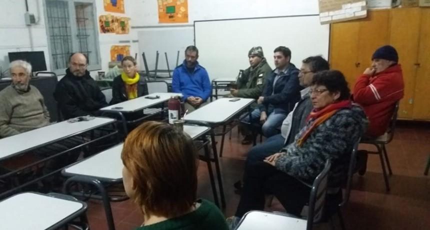 Integrantes de la Asamblea de Perucho se reunieron con las autoridades electas de San José
