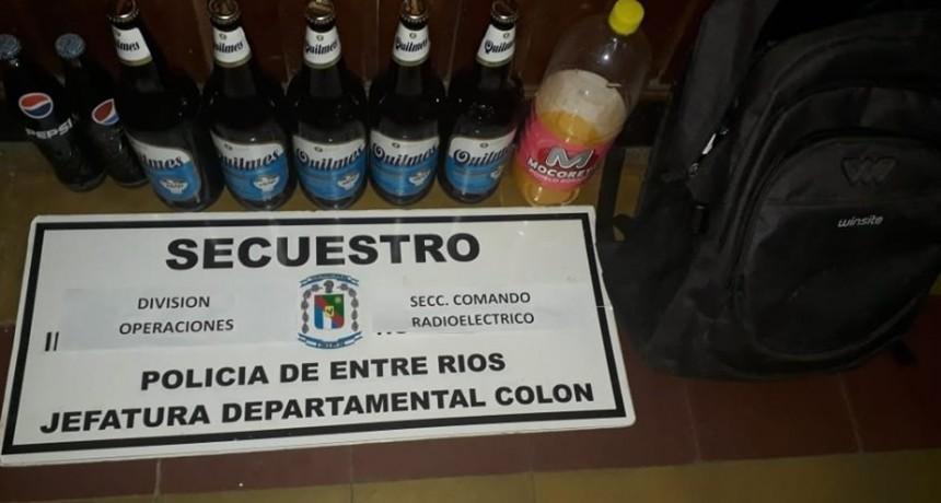 COLÓN  Gacetilla policial