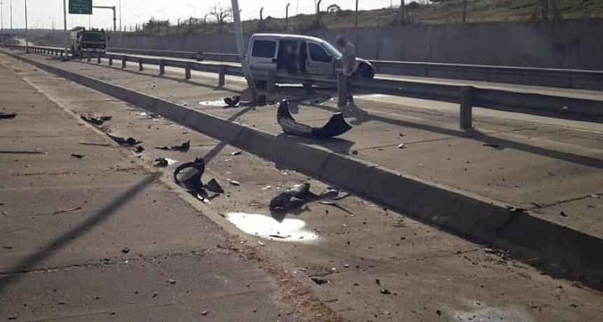 ACCIDENTE EN EL KM 200 DE LA AUTOVÍA RUTA NACIONAL 14
