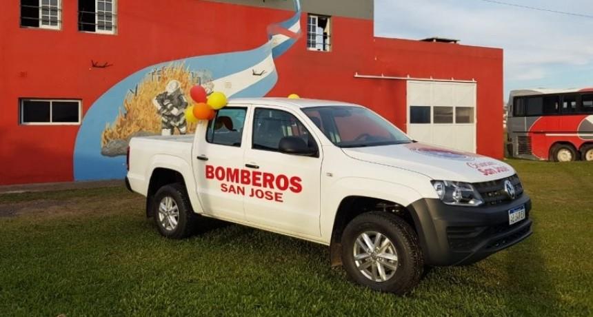 Nueva incorporación al parque automotor de Bomberos Voluntarios San José