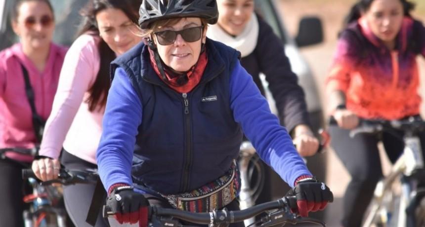 Más de 100 participantes hubo en la bicicleteada recreativa de Colón