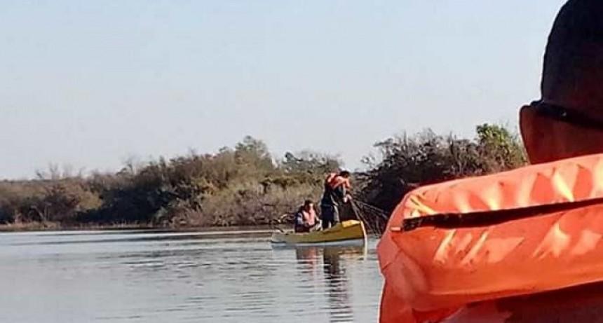Pescadores en infracción en la reserva Los teros