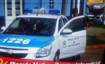 UNIDAD MOVIL PARA POLICIA VILLA ELISA.