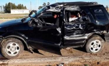 ACCIDENTE EN AUTOVIA GENERAL ARTIGAS.