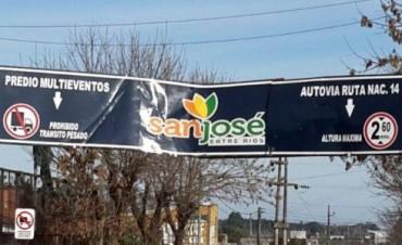EL INTENDENTE DE CONCORDIA EN SAN JOSE.