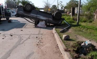 FALLECE EN VUELCO VECINO DE VILLAGUAY.